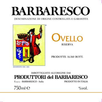 Produttori del Barbaresco Ovello Riserva 2016<br /> Piedmont, Italy<br /> 97pts-V