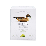 Decoy Wine Seltzer Sauvignon Blanc with Vibrant Lime, 4 Pack Cans 250ml<br /> California