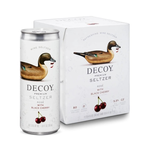 Decoy Wine Seltzer Rose with Black Cherry 4 Pack Cans 250ml<br /> California