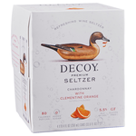 Decoy Wine Seltzer Chardonnay with Clementine Orange 4 Pack  Cans 250ml<br /> California