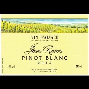 Jean Rosen Pinot Blanc 2019<br /> Alsace, France