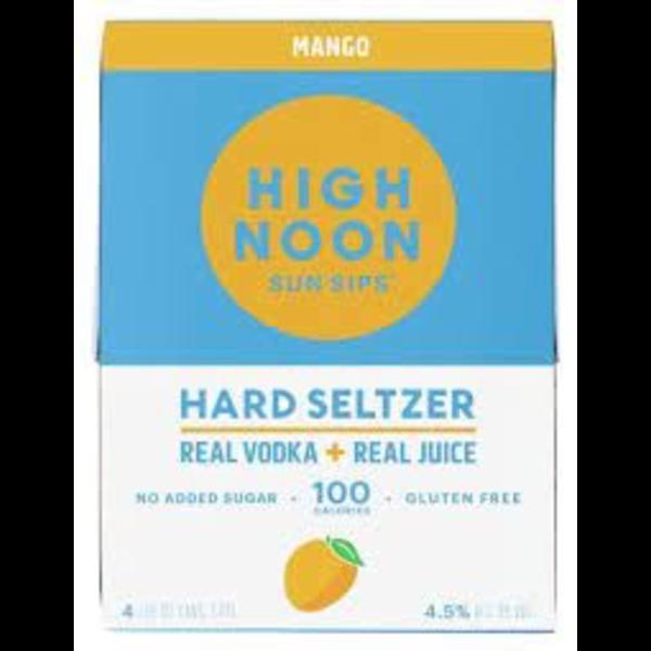 High Noon Sun Sips Vodka & Soda Mango Priced Per Can