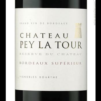 Ch Pey Ch Pey La Tour Reserve Du Chateau Bordeaux Superieur 2016<br /> Bordeaux, France