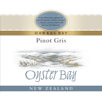 Oyster Bay Oyster Bay Pinot Gris 2020<br /> Hawkes Bay, New Zealand