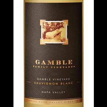 Gamble Family Vineyards Gamble Vineyard Sauvignon Blanc 2019<br /> Napa Valley, California<br /> 93pts-WE, 93pts-WS, 91pts-JS
