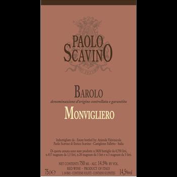 Scavino Paolo Scavino Monvigliero Barolo 2016<br /> Piedmont, Italy<br /> 97-WE, 96pts-JS, 93pts-WS