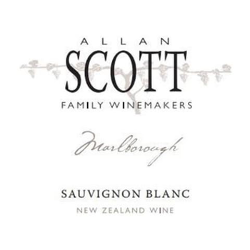 Allan Scott Family Winemakers Sauvignon Blanc 2020 Marlborough, New Zealand<br /> 92pts-WS