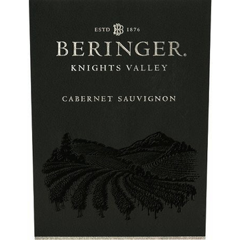 Beringer Beringer Knights Valley Cabernet Sauvignon 2018<br />California