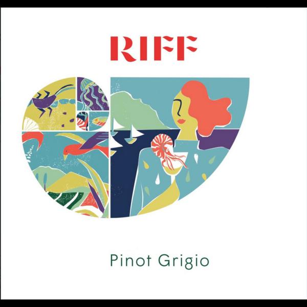 Riff Riff Pinot Grigio 2020<br />Italy