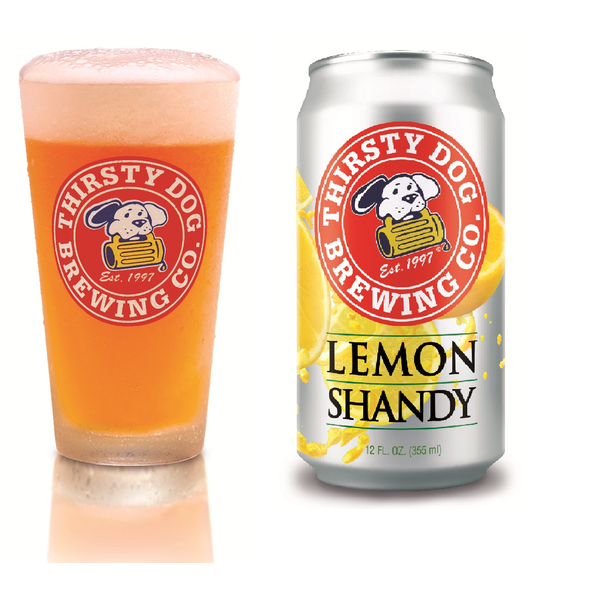 Thirsty Dog Brewing Co. Lemon Shandy Priced Per Can