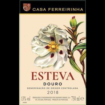 Casa Ferreirinha Esteva 2018<br /> Douro, Portugal<br /> 92pts-D