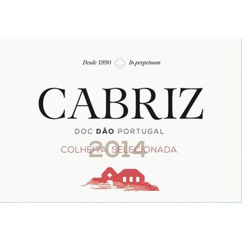 Quinta de Cabriz Dao Colheita Seleccionada 2014<br /> Dão, Portugal<br /> #46 Wine Spectator Top 100 of 2016  90pts-WS
