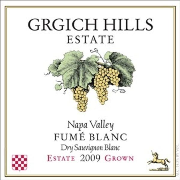 Grgich Hills Grgich Hills Fume Blanc 2018<br /> Napa, California<br />Organic