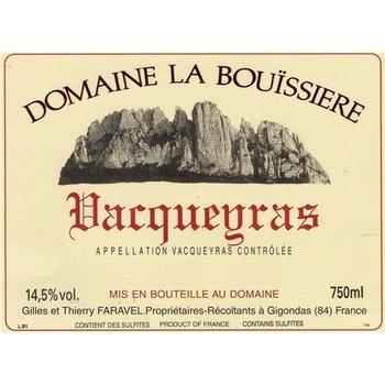 Dm Bouissiere Domaine La Bouissiere Vacqueyras 2016<br />Rhone, France
