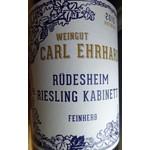 Carl Ehrhard Carl Ehrhard Rudesheimer Riesling Kabinett Feinherb 2018<br /> Rheingau, Germany
