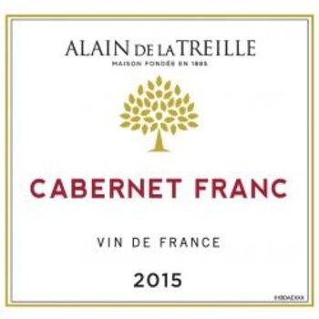 Alain De La Treille Cabernet France 2015<br /> Vine de France