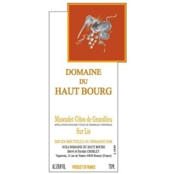 Dm Haut Bourg Domaine Du Haut Bourg Muscadet 2018  <br /> Loire, France