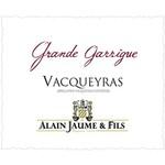 Alain Jaume Alain Jaume Vacueyras Grand Garrigue 2018<br /> Rhone, France
