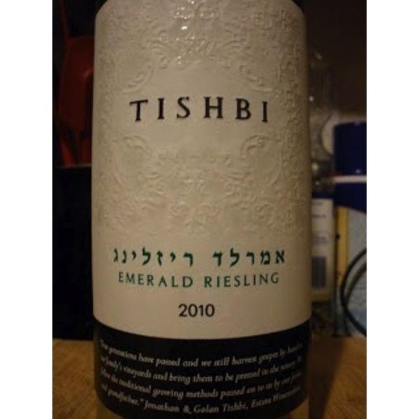 Tishbi Tishbi Emerald Riesling 2018<br />Kosher-Israel