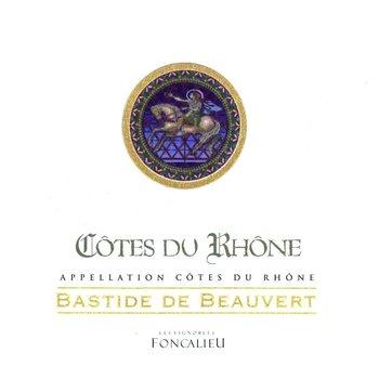 Bastide Beauvert Bastide Beauvert Cote-Du-Rhone 2016<br /> Rhone, France