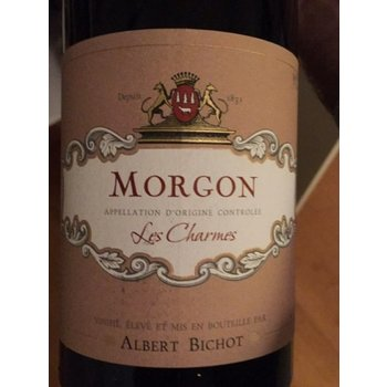 Bichot Albert Bichot  Les Charmes Morgon 2015<br /> Beaujolais, France<br /> 90pts-WE