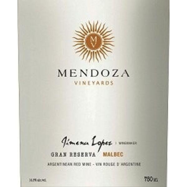 Mendoza Vineyards Mendoza Vineyards Gran Reserva Malbec 2017<br />Mendoza, Argentina  <br /> 92pts-JS