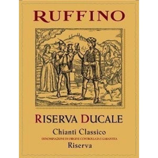 Ruffino Ruffino Chianti Classico Riserva Ducale Tan 2015<br />Tuscany, Italy