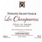 Alain Jaume Alain Jaume & Fils Domaine Grand Veneur Les Champauvins Cotes du Rhone 2018<br />Rhone, France
