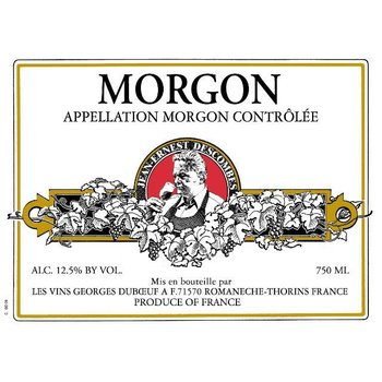 Duboeuf George Duboeuf Morgon Jean Descombes 2015<br />Beaujolais, France<br /> 93pts-JS, 91pts-WE