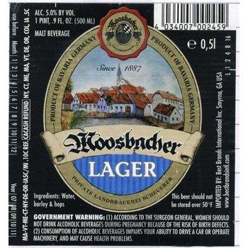 Moosbacher Moosbacher Lager Beer