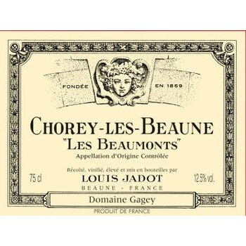 Jadot Louis Jadot Chorey-lès-Beaune Les Beaumonts Roouge 2015<br /> Burgundy, France