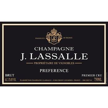 J. Lassalle Brut Cuvee Preference Premier Cru <br /> Champagne, France