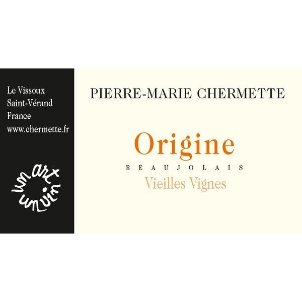 Chermette Pierre-Marie Chermette Origine Vieilles Vignes Beaujolais 2018<br /> Beaujolais, France