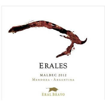Eral Bravo Bodegas Eral Bravo Erales Malbec 2014<br /> Mendoza, Argentina