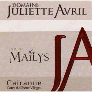Dm Juliette Avril Domaine Juliette Avril Mailys Cairanne 2016<br /> Cotes du Rhone, France