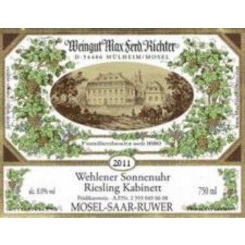Richter Richter Wehlener Sonnenuhr Riesling Kabinett 2018<br />Mosel, Germany