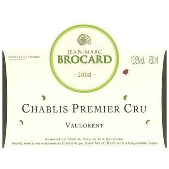 """Brocard Domaine Jean-Marc Brocard """"Vaulorent"""" Chablis 1er Cru 2015 <br /> Burgundy, France  <br /> 91pts-V, 90pts-WA"""