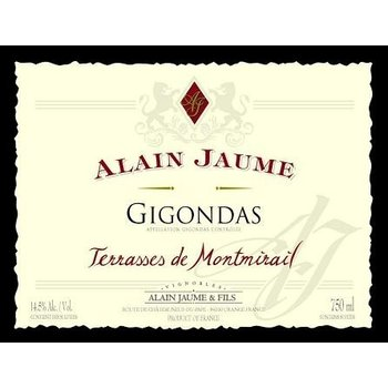 Alain Jaume Alain Jaume Terrasses de Montmirail Gigondas 2016 <br /> Rhone, France  <br /> 94pts-WE, 93pts-WA