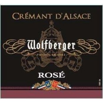 Wolfberger Wolfberger Cremant D'Alsace Rose<br /> Alsace, France