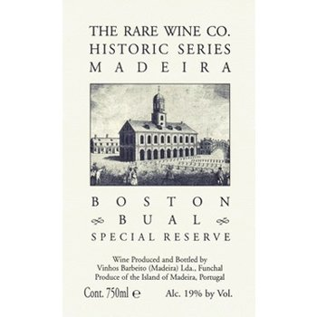 Rare Wine Co The Rare Wine Company Historic Series Madeira Boston Bual Special Reserve <br />