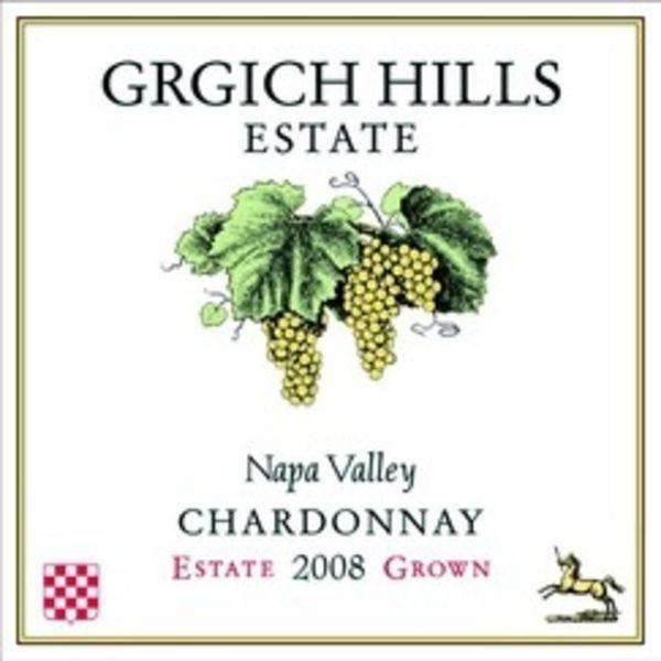 Grgich Hills Grgich HIlls Chardonnay Estate 2016  Organic<br />Napa, California