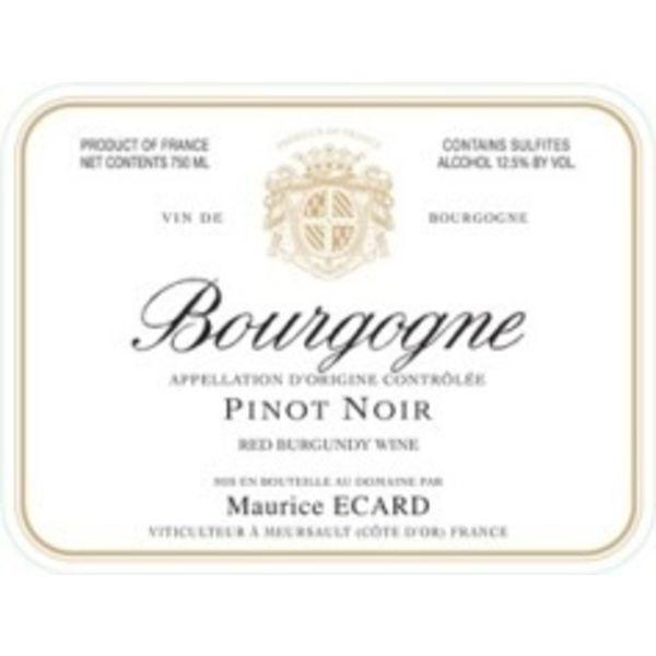 Maurice Ecard Bourgogne Pinot Noir 2019<br />Burgundy, France