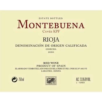 Montebuena Montebuena Rioja Tempranillo 2017<br />Rioja, Spain