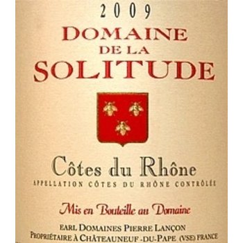 Dm Solitude Domaine Solitude Cote-Du-Rhone-Rouge 2017<br /> Rhone, France