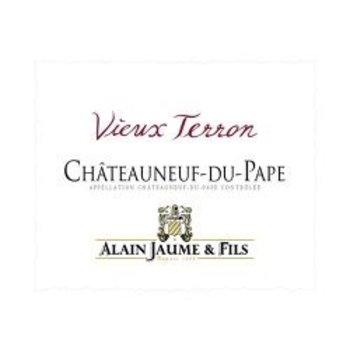 Alain Jaume Alain Jaume Chateauneuf-du-Pape Vieux Terron 2017<br /> Rhone, France