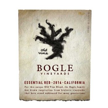 "Bogle Bogel Old Vine ""Essential Red"" 2016<br />