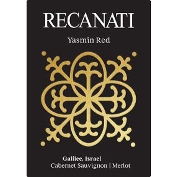 Recanati Recanati Yasmin Red Cabernet Sauvignon/ Merlot Blend 2018 Galilee, Israel