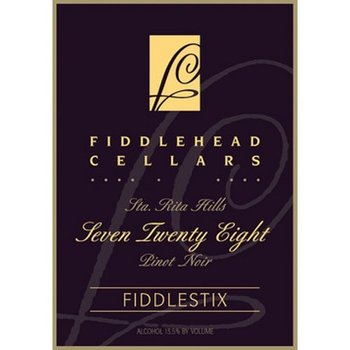 "FiddleHead Cellars FiddleHead Cellars Fiddlestix ""728' Pinot Noir 2013 <br /> Sta. Rita Hills, California"