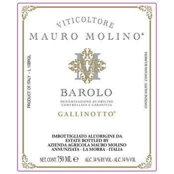 Mauro Molino Mauro Molino Gallinotto Barolo 2014<br />Piedmont, Italy<br /> 90pts-JS