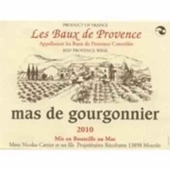 Mas de Gourgonnier Les Baux de Provence Rouge 2016  ORGANIC Provence, France